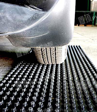 置顶PVC排水板强度