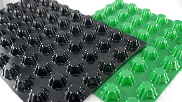 PVC排水板的优点?