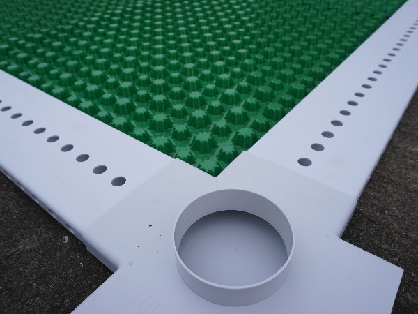 虹吸排水板收集防护系统